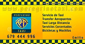 Taxi Santiago a Sarria